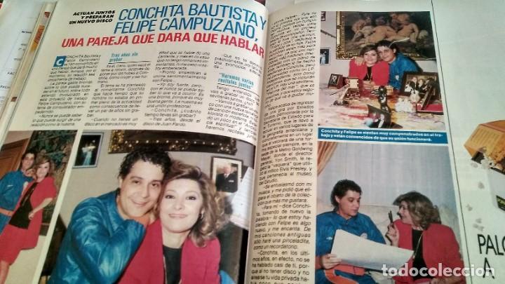 Coleccionismo de Revista Pronto: REVISTA PRONTO 890 EL FARY, PERICO DELGADO, CONCHITA BAUTISTA, STING, MARTA SÁNCHEZ - Foto 2 - 194901496