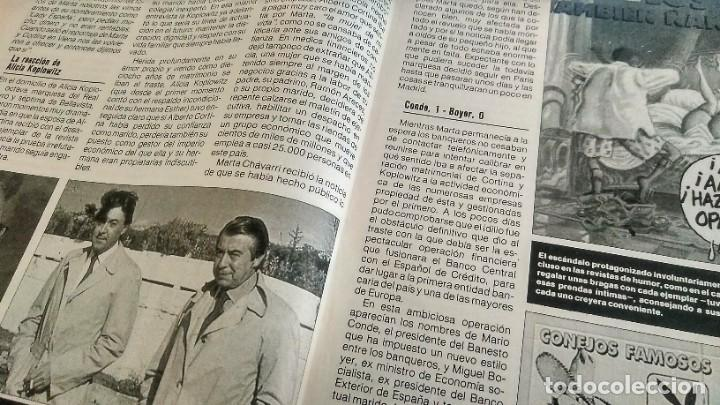 Coleccionismo de Revista Pronto: REVISTA PRONTO 890 EL FARY, PERICO DELGADO, CONCHITA BAUTISTA, STING, MARTA SÁNCHEZ - Foto 3 - 194901496