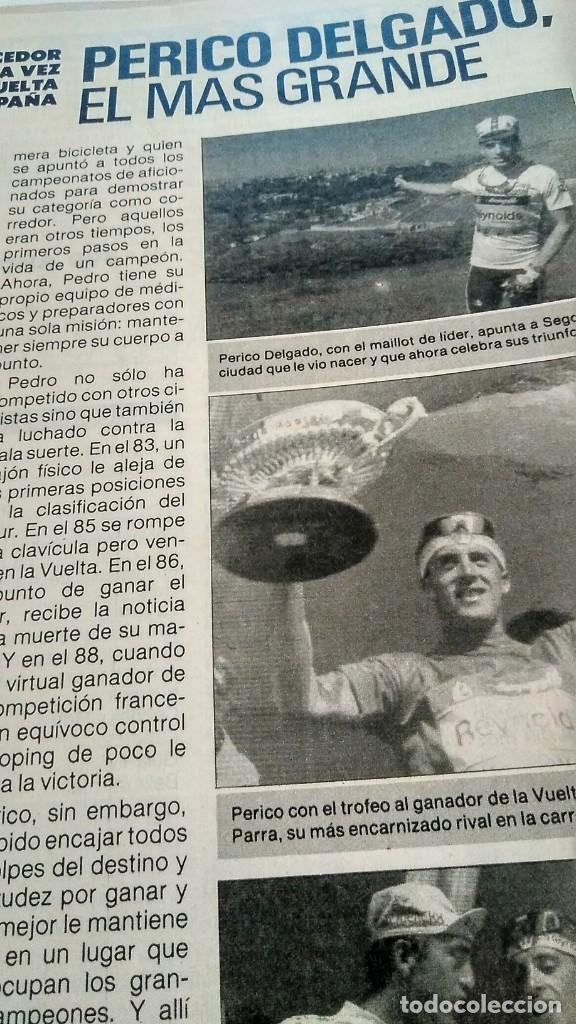 Coleccionismo de Revista Pronto: REVISTA PRONTO 890 EL FARY, PERICO DELGADO, CONCHITA BAUTISTA, STING, MARTA SÁNCHEZ - Foto 4 - 194901496