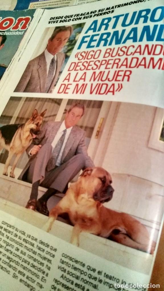 Coleccionismo de Revista Pronto: REVISTA PRONTO 893 AÑO 1989 JOE RÍGOLI, MARTA CHÁVARRI, ARTURO FERNÁNDEZ, PEPE LUIS VÁZQUEZ - Foto 5 - 194903221