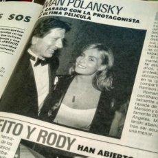 Coleccionismo de Revista Pronto: REVISTA PRONTO 907 AÑO 1989 LADY DI Y CARLOS DE INGLATERRA, FOFITO Y RODY ARAGÓN, LOLA HERRERA. Lote 194903307