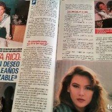 Coleccionismo de Revista Pronto: REVISTA PRONTO 913 AÑO 1989 VICKY LARRAZ, CAMILO JOSÉ CELA NOBEL, PAQUITA RICO, IÑAQUI GABILONDO. Lote 194903501