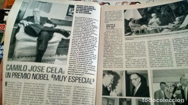 Coleccionismo de Revista Pronto: REVISTA PRONTO 913 AÑO 1989 VICKY LARRAZ, CAMILO JOSÉ CELA NOBEL, PAQUITA RICO, IÑAQUI GABILONDO - Foto 2 - 194903501