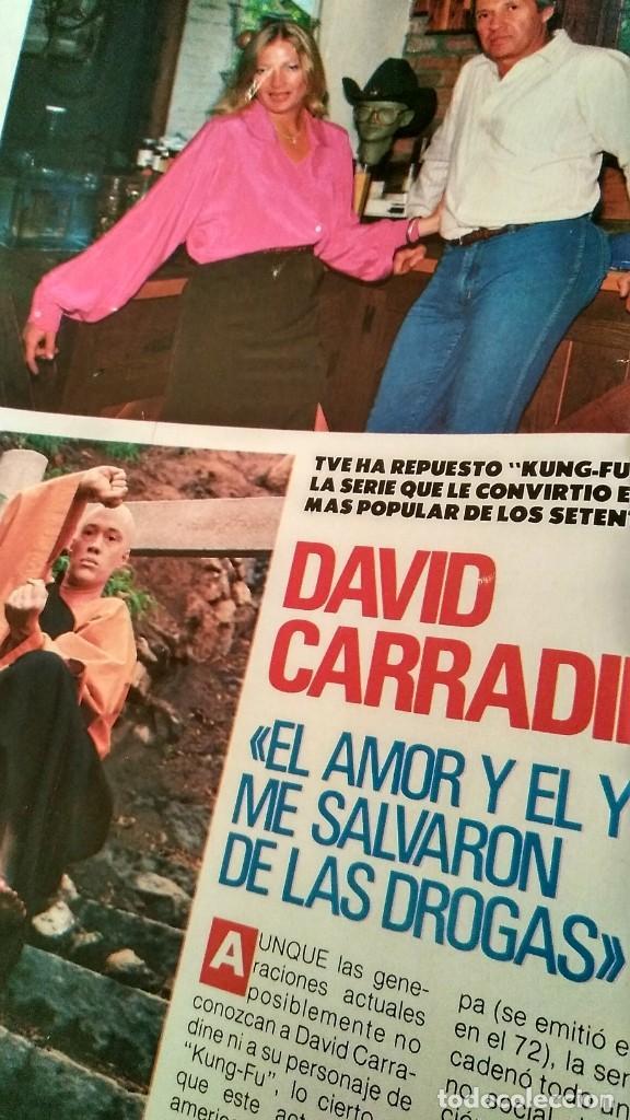 REVISTA PRONTO 917 AÑO 1989 MARIA JOSÉ CANTUDO, DAVID CARRADINE, MARTA SÁNCHEZ, CRUZ Y RAYA (Papel - Revistas y Periódicos Modernos (a partir de 1.940) - Revista Pronto)