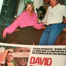 Coleccionismo de Revista Pronto: REVISTA PRONTO 917 AÑO 1989 MARIA JOSÉ CANTUDO, DAVID CARRADINE, MARTA SÁNCHEZ, CRUZ Y RAYA. Lote 194903592
