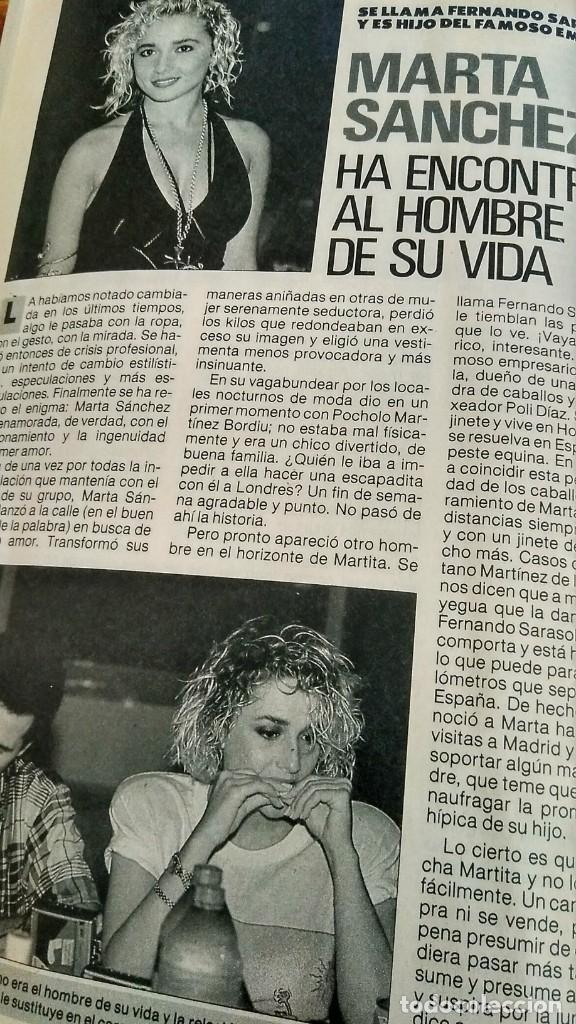 Coleccionismo de Revista Pronto: REVISTA PRONTO 917 AÑO 1989 MARIA JOSÉ CANTUDO, DAVID CARRADINE, MARTA SÁNCHEZ, CRUZ Y RAYA - Foto 4 - 194903592
