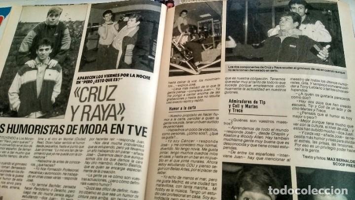 Coleccionismo de Revista Pronto: REVISTA PRONTO 917 AÑO 1989 MARIA JOSÉ CANTUDO, DAVID CARRADINE, MARTA SÁNCHEZ, CRUZ Y RAYA - Foto 5 - 194903592