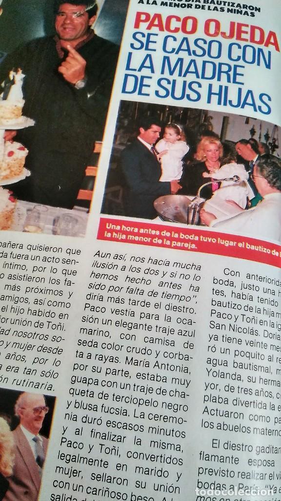 Coleccionismo de Revista Pronto: REVISTA PRONTO 917 AÑO 1989 MARIA JOSÉ CANTUDO, DAVID CARRADINE, MARTA SÁNCHEZ, CRUZ Y RAYA - Foto 6 - 194903592