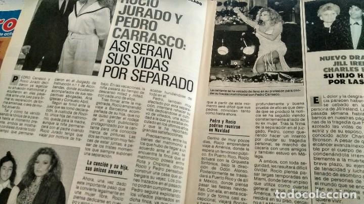 Coleccionismo de Revista Pronto: REVISTA PRONTO 917 AÑO 1989 MARIA JOSÉ CANTUDO, DAVID CARRADINE, MARTA SÁNCHEZ, CRUZ Y RAYA - Foto 7 - 194903592