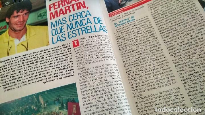 REVISTA PRONTO 919 AÑO 1989 MARY SANTPERE, RAFAELA APARICIO, MUERTE FERNANDO MARTÍN, CHIQUETETE (Papel - Revistas y Periódicos Modernos (a partir de 1.940) - Revista Pronto)
