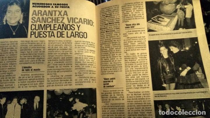 REVISTA PRONTO 922 AÑO 1990 ARANCHA SÁNCHEZ VICARIO, SONIA MARTÍNEZ, ÓSCAR DE LA RENTA (Papel - Revistas y Periódicos Modernos (a partir de 1.940) - Revista Pronto)