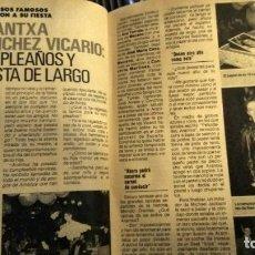Coleccionismo de Revista Pronto: REVISTA PRONTO 922 AÑO 1990 ARANCHA SÁNCHEZ VICARIO, SONIA MARTÍNEZ, ÓSCAR DE LA RENTA. Lote 194910438