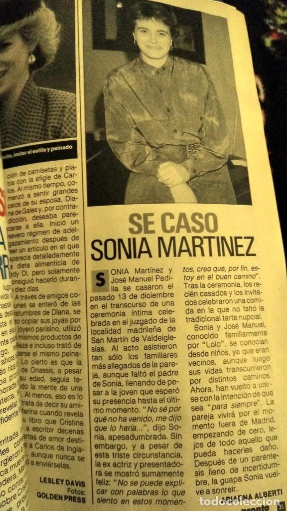 Coleccionismo de Revista Pronto: REVISTA PRONTO 922 AÑO 1990 ARANCHA SÁNCHEZ VICARIO, SONIA MARTÍNEZ, ÓSCAR DE LA RENTA - Foto 2 - 194910438