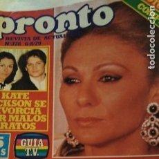 Coleccionismo de Revista Pronto: REVISTA PRONTO 378 AÑO 1979 POSTER CAMILO SESTO, KATE JACKSON LOS ÁNGELES DE CHARLIE. Lote 194958271