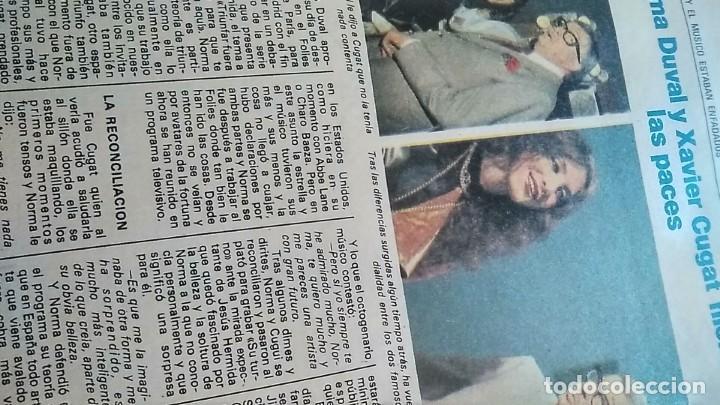 Coleccionismo de Revista Pronto: REVISTA PRONTO 521 AÑO 1982 ANUNCIO SUPER POP MECANO, PAJARES, ROCÍO JURADO, ISABEL PANTOJA - Foto 2 - 195076560