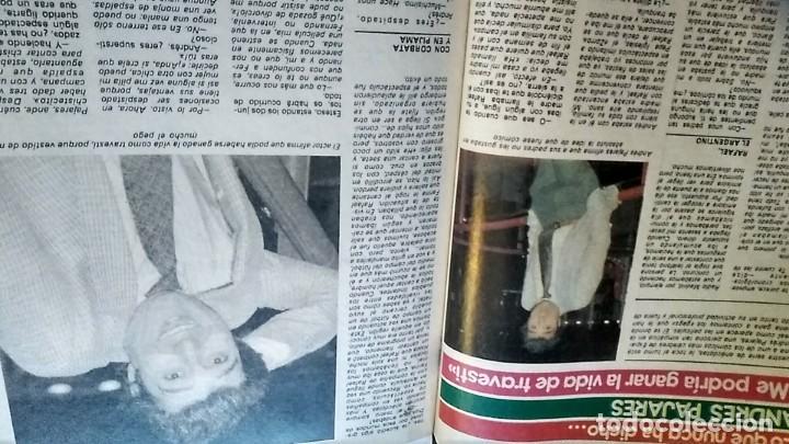Coleccionismo de Revista Pronto: REVISTA PRONTO 521 AÑO 1982 ANUNCIO SUPER POP MECANO, PAJARES, ROCÍO JURADO, ISABEL PANTOJA - Foto 3 - 195076560