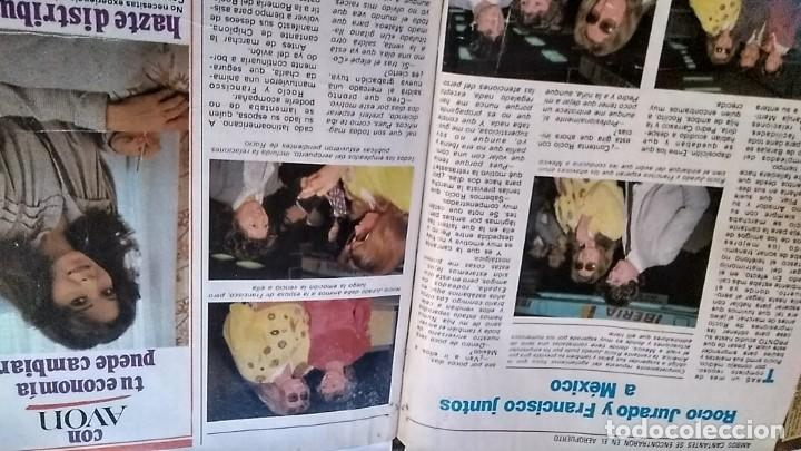 Coleccionismo de Revista Pronto: REVISTA PRONTO 521 AÑO 1982 ANUNCIO SUPER POP MECANO, PAJARES, ROCÍO JURADO, ISABEL PANTOJA - Foto 4 - 195076560