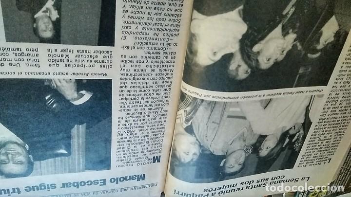 Coleccionismo de Revista Pronto: REVISTA PRONTO 521 AÑO 1982 ANUNCIO SUPER POP MECANO, PAJARES, ROCÍO JURADO, ISABEL PANTOJA - Foto 7 - 195076560
