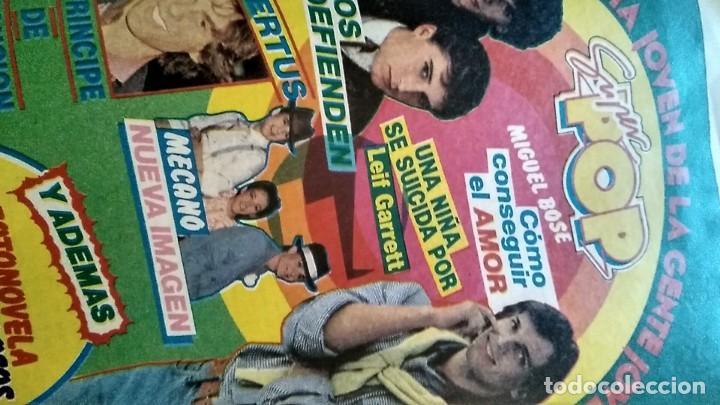 REVISTA PRONTO 521 AÑO 1982 ANUNCIO SUPER POP MECANO, PAJARES, ROCÍO JURADO, ISABEL PANTOJA (Papel - Revistas y Periódicos Modernos (a partir de 1.940) - Revista Pronto)