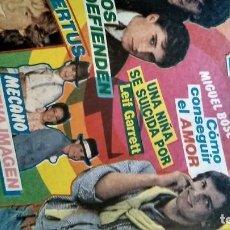 Coleccionismo de Revista Pronto: REVISTA PRONTO 521 AÑO 1982 ANUNCIO SUPER POP MECANO, PAJARES, ROCÍO JURADO, ISABEL PANTOJA. Lote 195076560