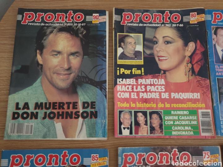 Coleccionismo de Revista Pronto: Lote de 8 Revista Pronto. - Foto 2 - 195099385