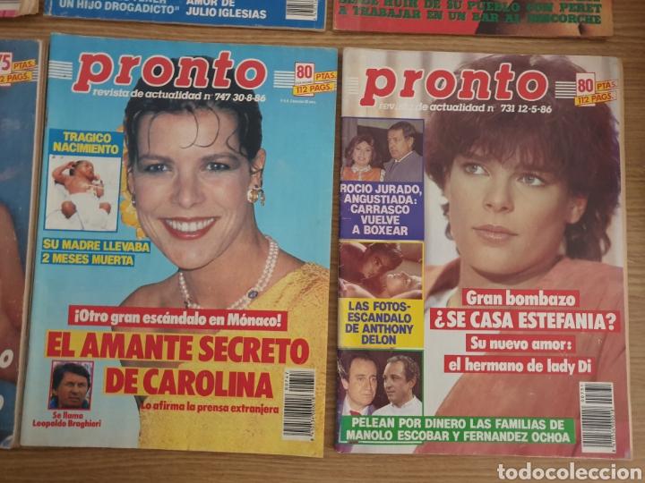 Coleccionismo de Revista Pronto: Lote de 8 Revista Pronto. - Foto 5 - 195099385