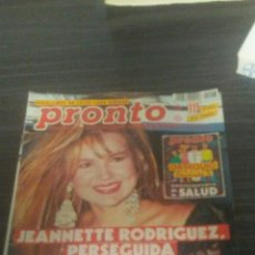 Coleccionismo de Revista Pronto: REVISTA PRONTO 28-9-1991. Lote 195420420