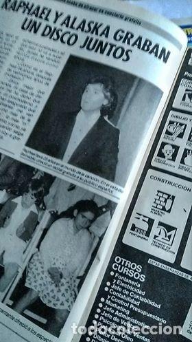 Coleccionismo de Revista Pronto: REVISTA PRONTO 687 ISABEL PANTOJA Y PAQUIRRI, CHIQUETETE, SERIE FALCON CREST 1985 - Foto 4 - 183530180
