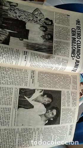 Coleccionismo de Revista Pronto: REVISTA PRONTO 687 ISABEL PANTOJA Y PAQUIRRI, CHIQUETETE, SERIE FALCON CREST 1985 - Foto 5 - 183530180