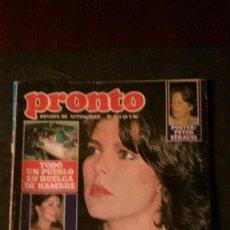 Coleccionismo de Revista Pronto: CAROLINA DE MONACO-LOLA FLORES-MARINALEDA-PAULA PATIER-CHERYL LADD-MARIA CASAL-MARIA JIMÉNEZ. Lote 196376756