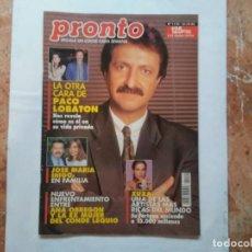 Coleccionismo de Revista Pronto: REVISTA PRONTO N° 1119 16-10-93 OCTUBRE AÑO 1993 FOTO DE XUXA. Lote 197022665