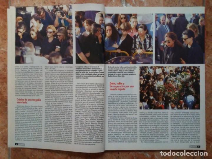 Coleccionismo de Revista Pronto: Revista Pronto n° 1205 10-6-95 junio Año 1995 Antonio Flores Anexo Lola de España 3 - Foto 4 - 197431097