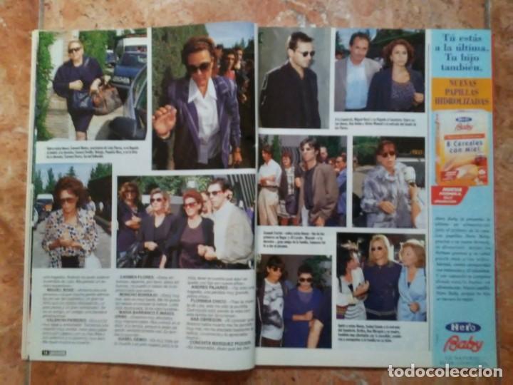 Coleccionismo de Revista Pronto: Revista Pronto n° 1205 10-6-95 junio Año 1995 Antonio Flores Anexo Lola de España 3 - Foto 5 - 197431097