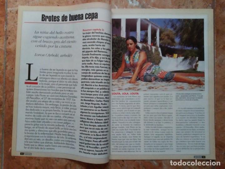 Coleccionismo de Revista Pronto: Revista Pronto n° 1205 10-6-95 junio Año 1995 Antonio Flores Anexo Lola de España 3 - Foto 9 - 197431097