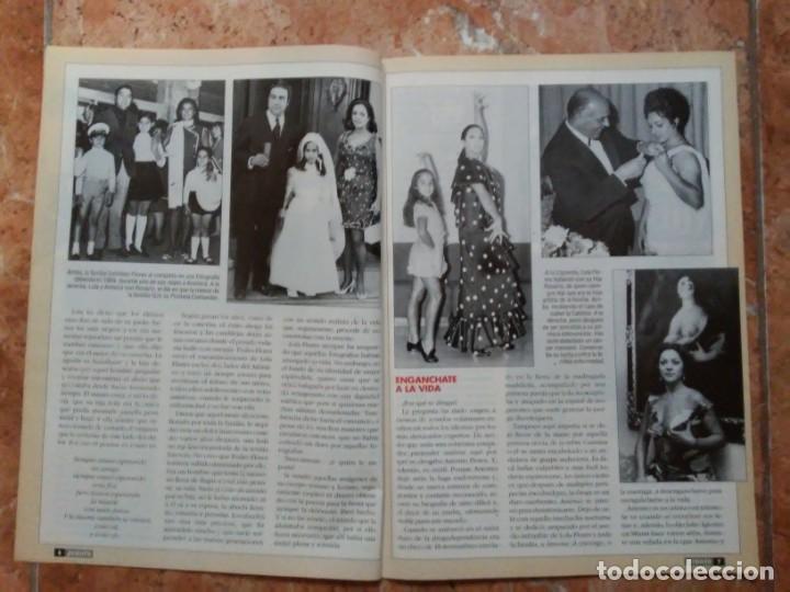 Coleccionismo de Revista Pronto: Revista Pronto n° 1205 10-6-95 junio Año 1995 Antonio Flores Anexo Lola de España 3 - Foto 10 - 197431097