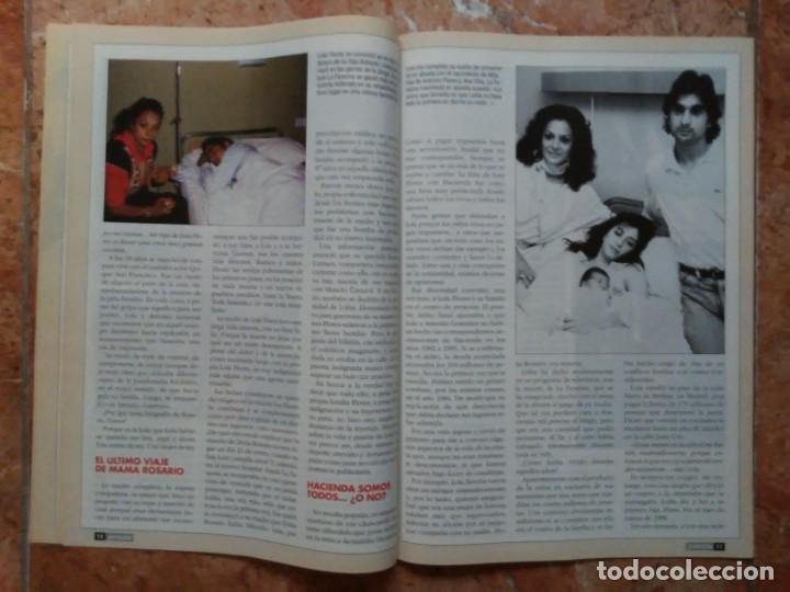 Coleccionismo de Revista Pronto: Revista Pronto n° 1205 10-6-95 junio Año 1995 Antonio Flores Anexo Lola de España 3 - Foto 11 - 197431097