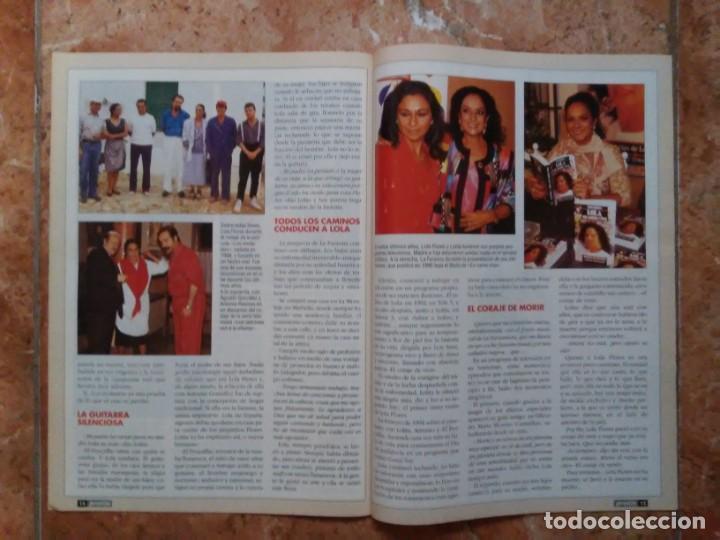 Coleccionismo de Revista Pronto: Revista Pronto n° 1205 10-6-95 junio Año 1995 Antonio Flores Anexo Lola de España 3 - Foto 12 - 197431097