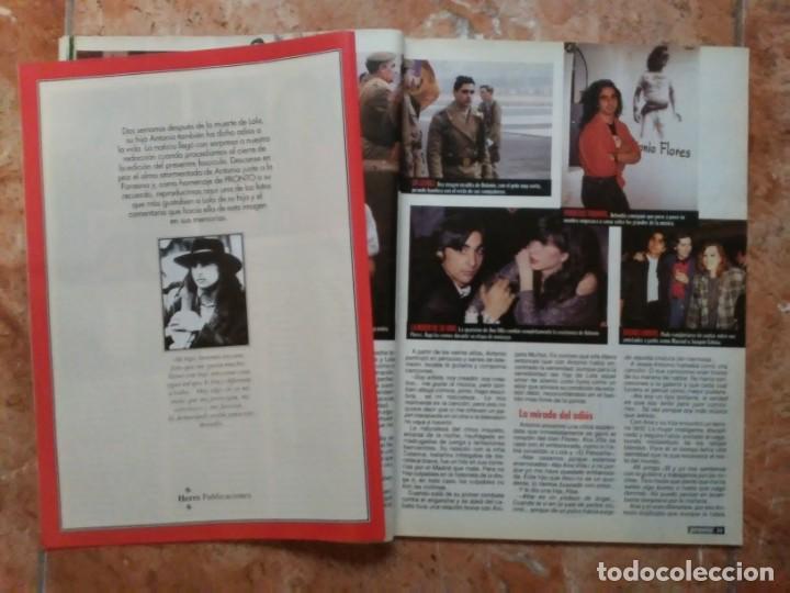 Coleccionismo de Revista Pronto: Revista Pronto n° 1205 10-6-95 junio Año 1995 Antonio Flores Anexo Lola de España 3 - Foto 14 - 197431097