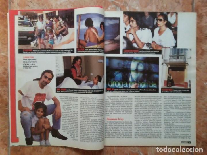 Coleccionismo de Revista Pronto: Revista Pronto n° 1205 10-6-95 junio Año 1995 Antonio Flores Anexo Lola de España 3 - Foto 15 - 197431097