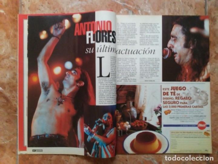 Coleccionismo de Revista Pronto: Revista Pronto n° 1205 10-6-95 junio Año 1995 Antonio Flores Anexo Lola de España 3 - Foto 16 - 197431097