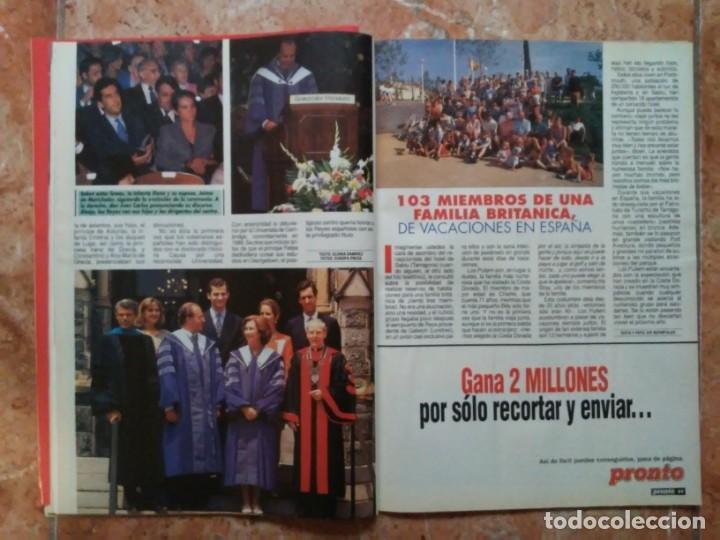 Coleccionismo de Revista Pronto: Revista Pronto n° 1205 10-6-95 junio Año 1995 Antonio Flores Anexo Lola de España 3 - Foto 19 - 197431097