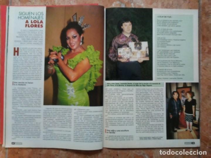 Coleccionismo de Revista Pronto: Revista Pronto n° 1205 10-6-95 junio Año 1995 Antonio Flores Anexo Lola de España 3 - Foto 21 - 197431097