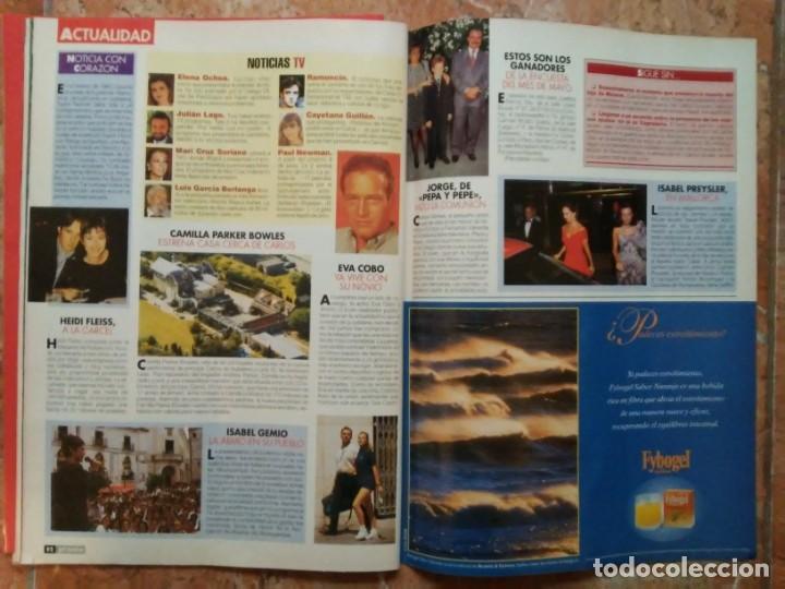 Coleccionismo de Revista Pronto: Revista Pronto n° 1205 10-6-95 junio Año 1995 Antonio Flores Anexo Lola de España 3 - Foto 22 - 197431097