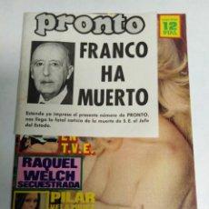 Coleccionismo de Revista Pronto: REVISTA PRONTO ANTIGUA. Lote 198579463