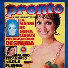 Coleccionismo de Revista Pronto: PRONTO - N° 170 - 15 08 1975. Lote 204704212