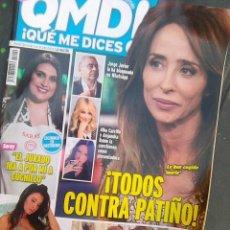 Coleccionismo de Revista Pronto: REVISTA QMD 16 DE MARZO DE 2020 CON MARIA PATIÑO Y RAQUEL MOSQUERA EN PORTADA. Lote 204705142