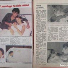 Coleccionismo de Revista Pronto: RECORTE REVISTA PRONTO Nº 531 1982 AMPARO LARRAÑAGA. Lote 204975853