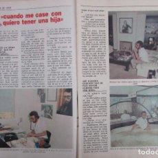 Coleccionismo de Revista Pronto: RECORTE REVISTA PRONTO Nº 534 1982 EUGENIO. Lote 204977273