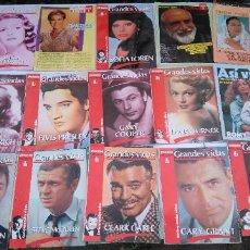 Coleccionismo de Revista Pronto: COLECCIONABLE, GRANDES VIDAS - REVISTA PRONTO- ELVIS, GARY COOPER, SOFIA LOREN, JAMES DEAN...... Lote 204981936