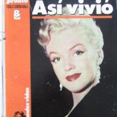 Coleccionismo de Revista Pronto: RECORTE REVISTA PRONTO Nº 642 1984 MARILYN MONROE. COLECCIONABLE. CAPITULO 8. Lote 206394202